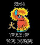 2014 - Year of The Horse: Fire by Karrit