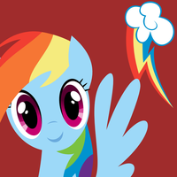 Icon: Rainbow Dash by demonreapergirl