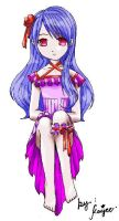 cute in violet by kaijee