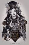 suho as the ringleader by telekainetic
