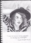 Jamie Campbell Bower Sketch by MagnificentCookie