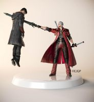 Dante vs Dante by Sylvan16