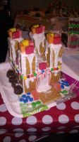 Gingerbread House 2011 by Imalshen