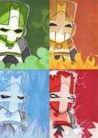Castle Crashers ATC Collection by Ikaruga-Riku
