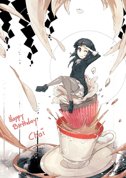 Chai's Birthday hohoho by wickedalucard