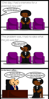 TXD: The Job Interview by UncleWoodstock