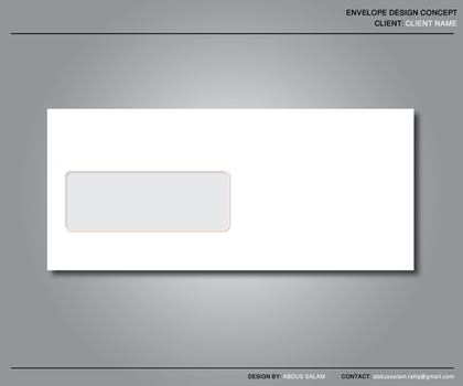 Envelope Design Template by Abdussalam