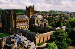 Wells Cathedral From Above by EarthHart