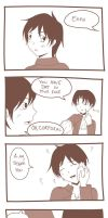 Just Rivaille being Rivaille... by Daiasoes