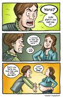 Yara/Asha and Theon  - ASoIaF / Game of Thrones by Azad-Injejikian