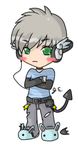 First male chibi by threewiishes