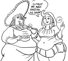 Extra Stupid Quickie: Bravely Dumbfat by Idle-Minded