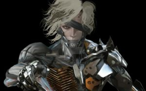 Metal Gear Rising W.I.P by AngryPIG