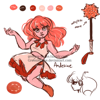 ref: Andesine by GreenieCake