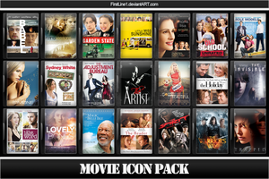 Movie Icon Pack 67 by FirstLine1