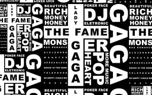 Lady GaGa Monster Text by fantasticlordvictor