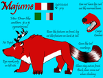 Majume Ref by Winged-Wolf22TM