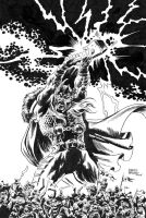 THOR the Asgardian-inks by benitogallego