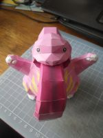 Papercraft - Lickytung 03 by ckry