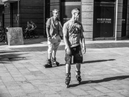 Skaters by daliscar