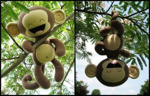 More Sweet-Toothed Monkey by melkatsa