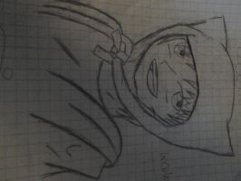 Anime Finn Uncolored/Redrawing by Kickyobutt11