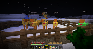 Minecraft - Chocobo by Icedragon300