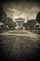 Athens Academy by jpgmn