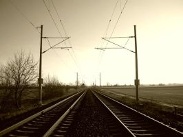 a railway into nowhere by mufficek