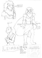 Races of Arets -- Leimaa by RickGriffin
