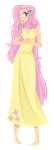 Human Fluttershy by RaineKitty