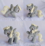 Mini Poseable Derpy Plush by xSystem