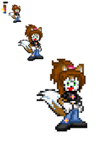 ::GIFT:: New Lara Sprite by TechnoGamerSpriter