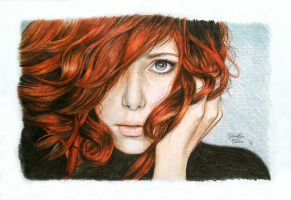 red hair by akiN-Nika