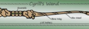 Cyrill's Wand by Greg-M
