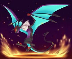 Noivern by nanidani