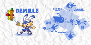 SMASH: DEMILLE by professorfandango