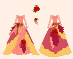 Belle Dress Design by Eranthe