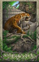 Jungle Book- Shere Khan by GoldenDaniel