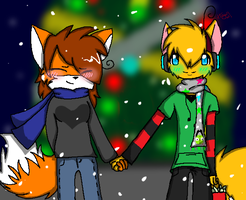 Christmas Spirit :Collab: by Caramelcat123