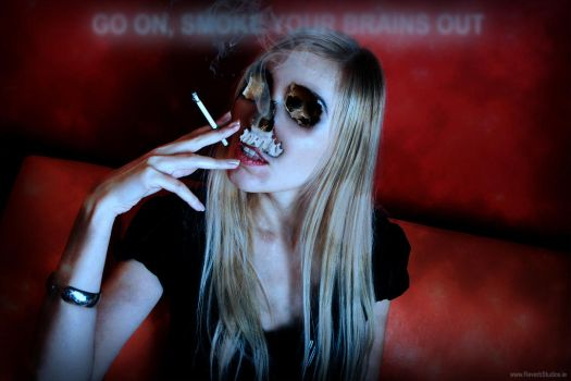 Go On Smoke Your Brains Out by reverbstudios