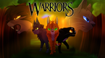 Warrior Cats 1st series .:MAP Cover:. by lunarxCloud