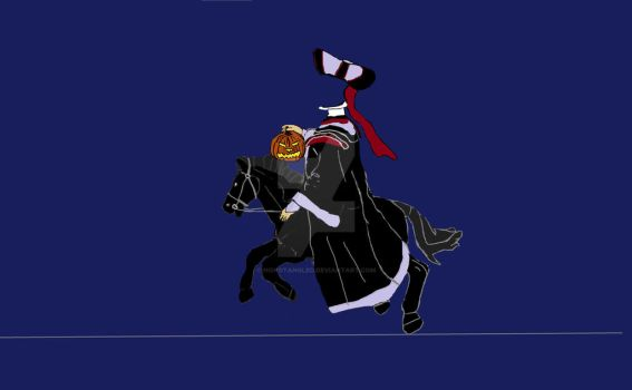 Claude Frollo As The Headless Horseman by HONDTangled