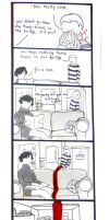 BBC Sherlock comic: Dividing line by Graphitekind