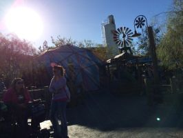 I'm at Fillmore's Taste-In of Cars Land photo 4 by Magic-Kristina-KW