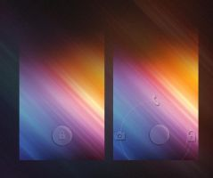 Glass ICS Widgetlocker Theme by chrisbanks2