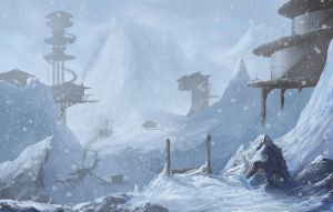 Frost town by JonathanP45