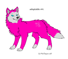 Wolf adoptable 4 by mossthewolf