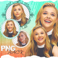Chloe Moretz PNG PACK #11 (Conference Portraits) by AytenSharif11