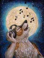 Wolf Music by DolphyDolphiana